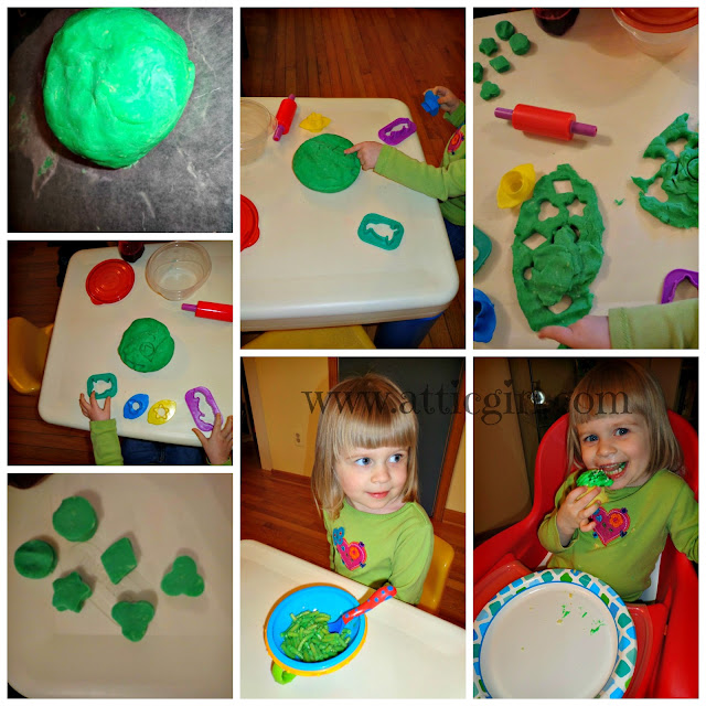 St. Patrick's Day, preschool themes, colors, shapes