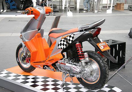 contoh modifikasi motor honda beat f1