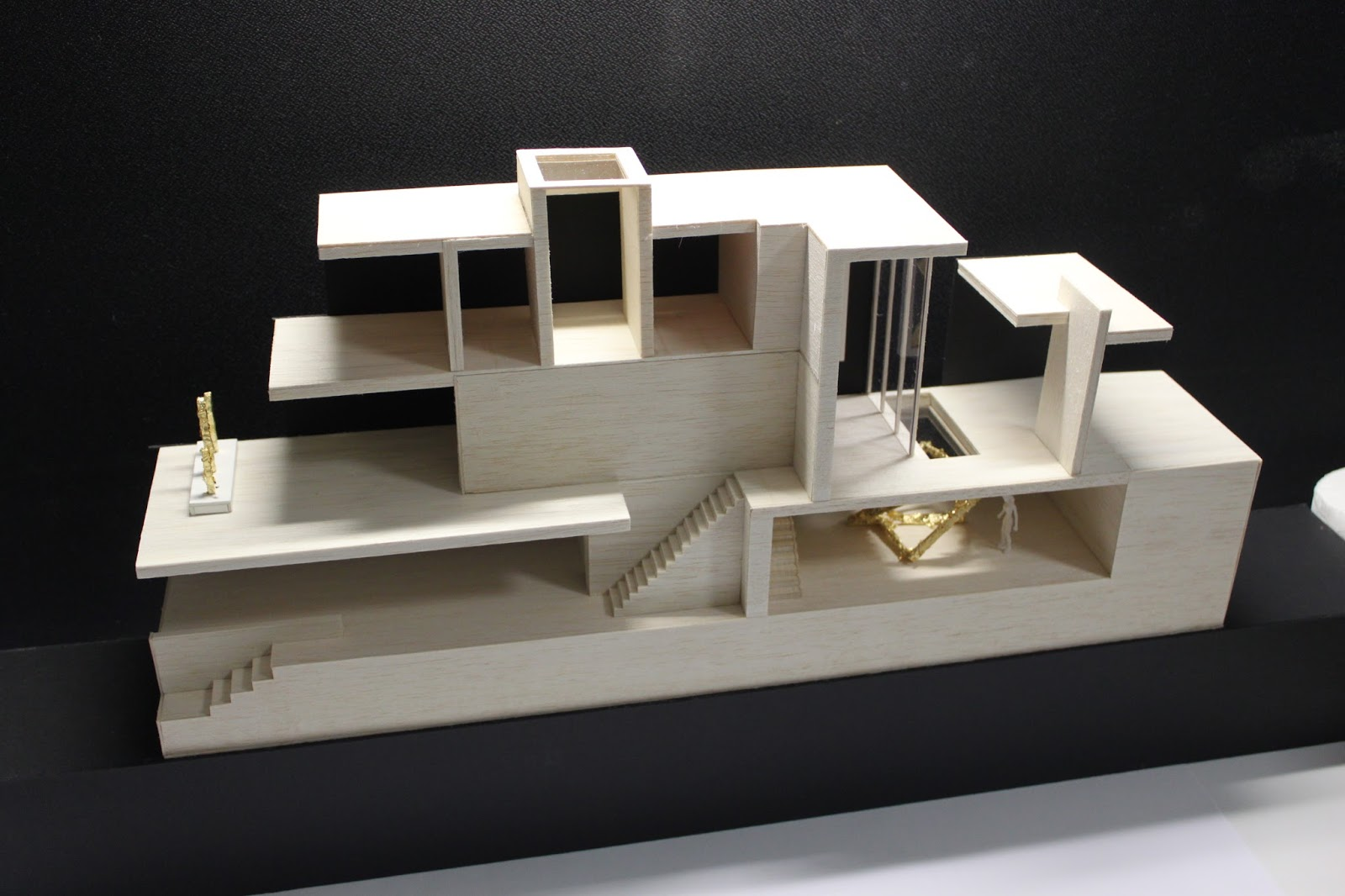Jonathan Yip Architectural Studies Sectional Model