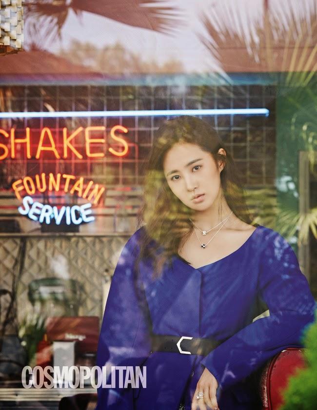 Yuri SNSD Girls' Generation - Cosmopolitan Magazine November Issue 2014