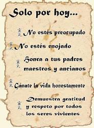 5 principios Reiki