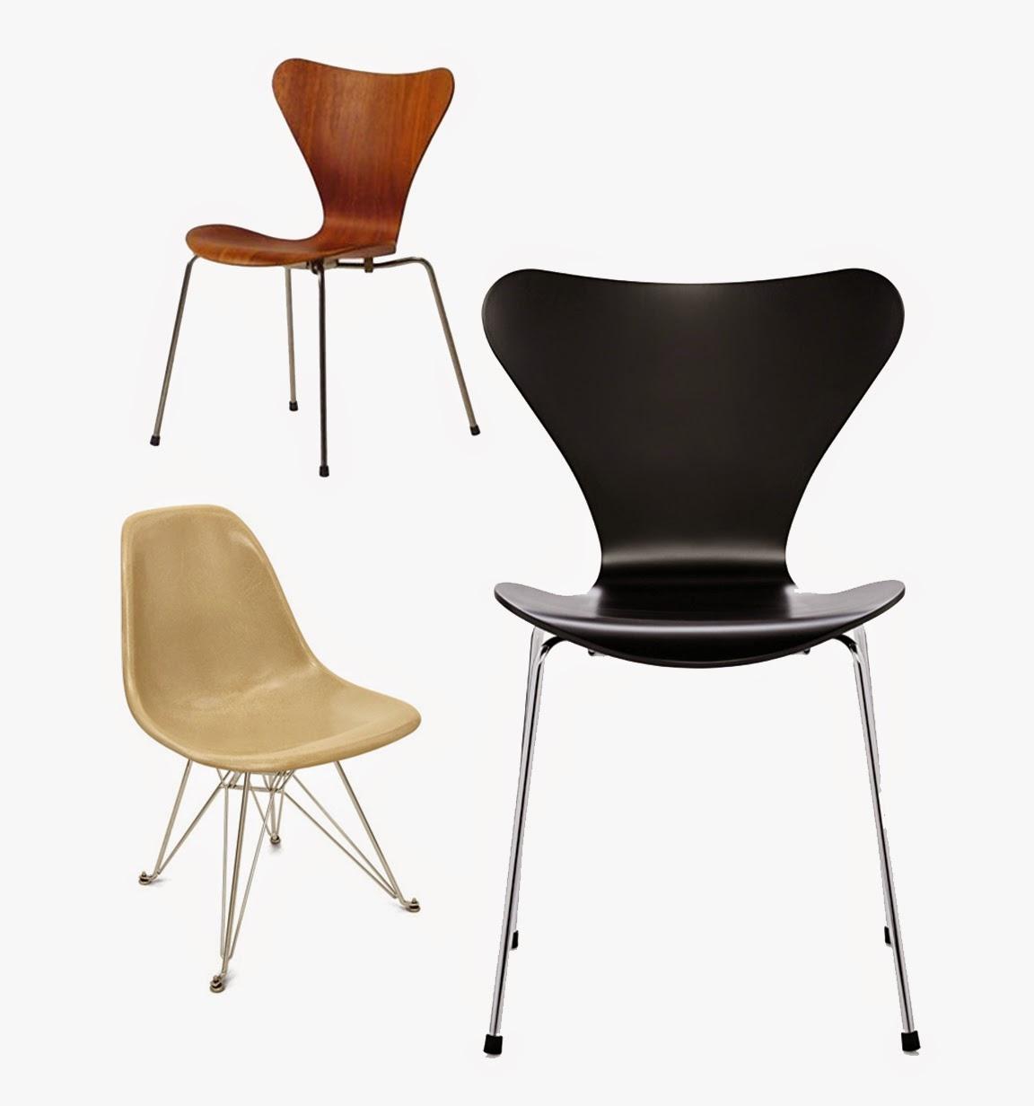 Vintage stoler i butikken - Futura Classics Blogg