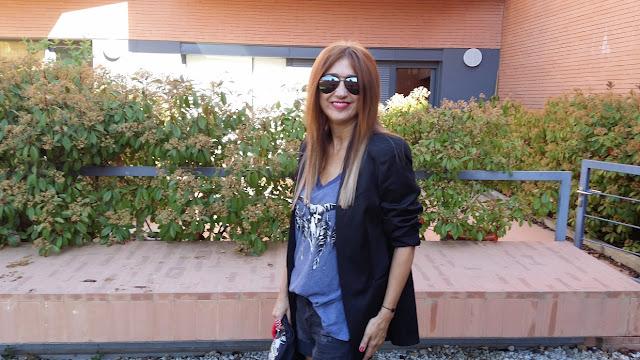 Blog de Moda, Carmen Hummer, Look, Style, Blazer, Shorts Boyfriend, Wildlfox, Street Style, Zara Style