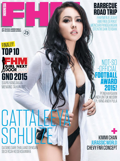 Nama Cattaleya - FHM Indonesia, June 2015