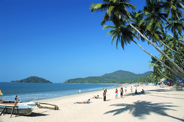 Goa Beach in India