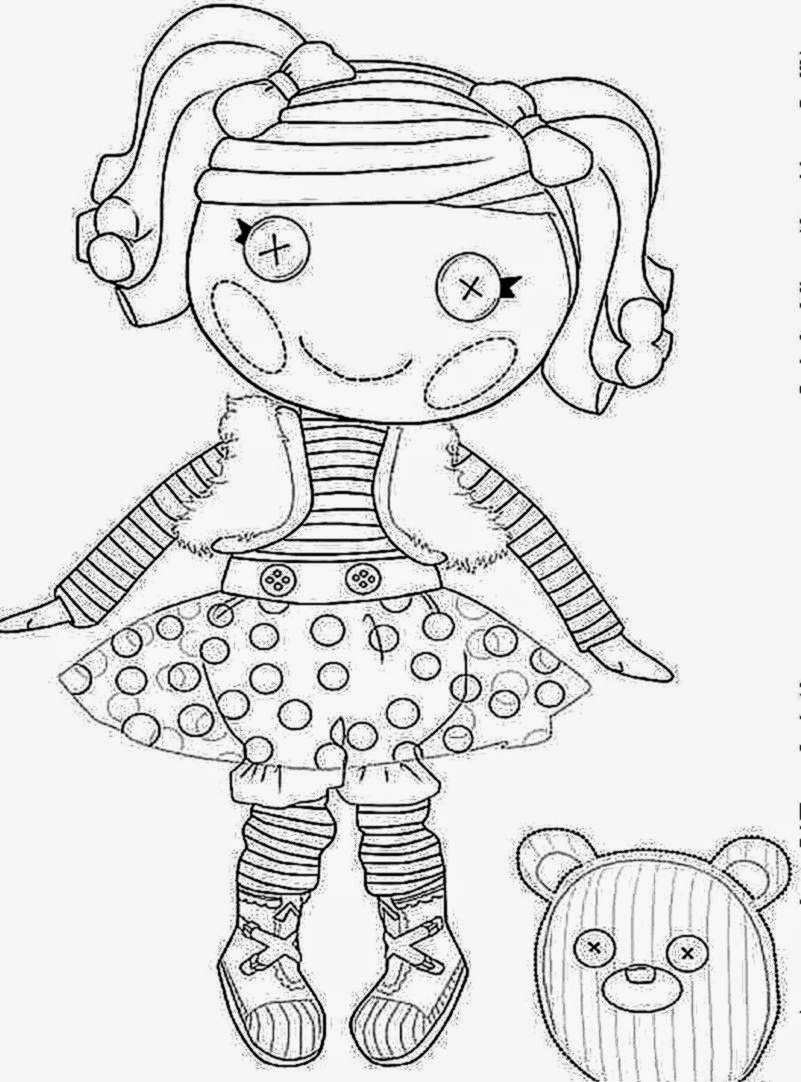 Lalaloopsy Coloring Pages | Free Coloring Pictures