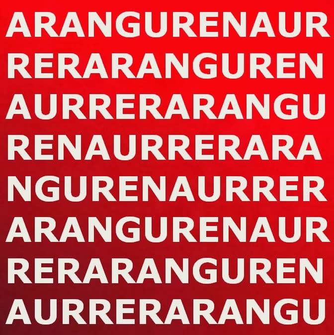 Aurrera Aranguren!