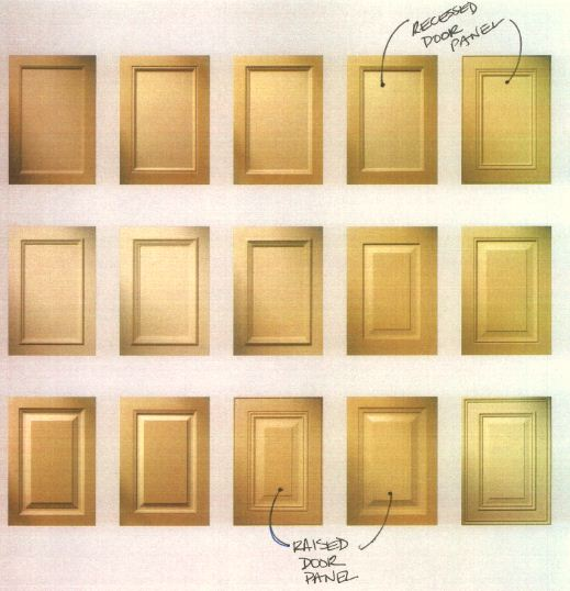 kitchen cabinet door styles pictures flat panel raised panel vs recessed how to choose kitchen cabinet door style the reno projects