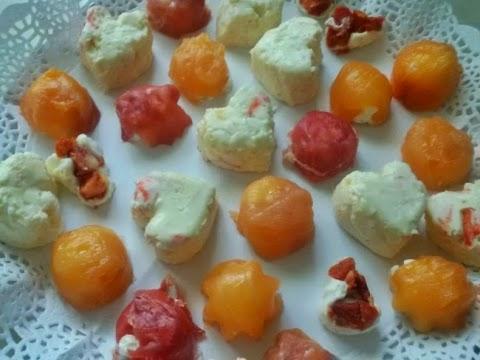 Bombones Salados con Queso Crema