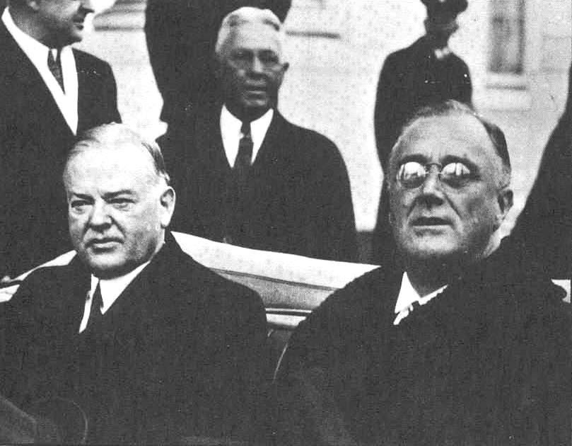 hoover vs fdr The initial plans of herbert hoover and the deals of his successor president franklin delano roosevelt held many  president hoover's plan of action vs the ne.