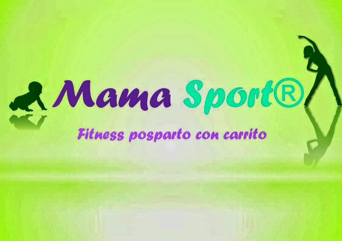 """MamaSport """" Fitness posparto con carrito"""""""