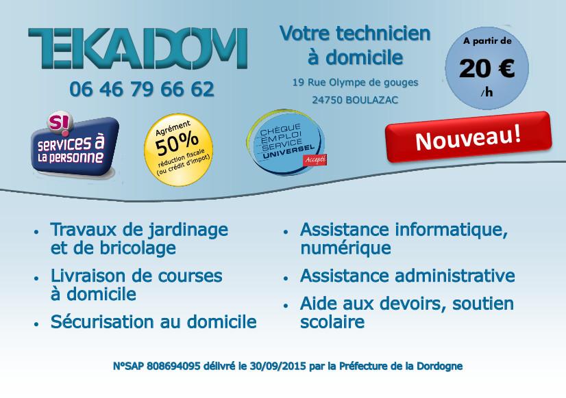 Tekadom24 for Service a la personne bricolage