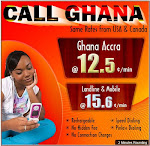 International calling Ghana