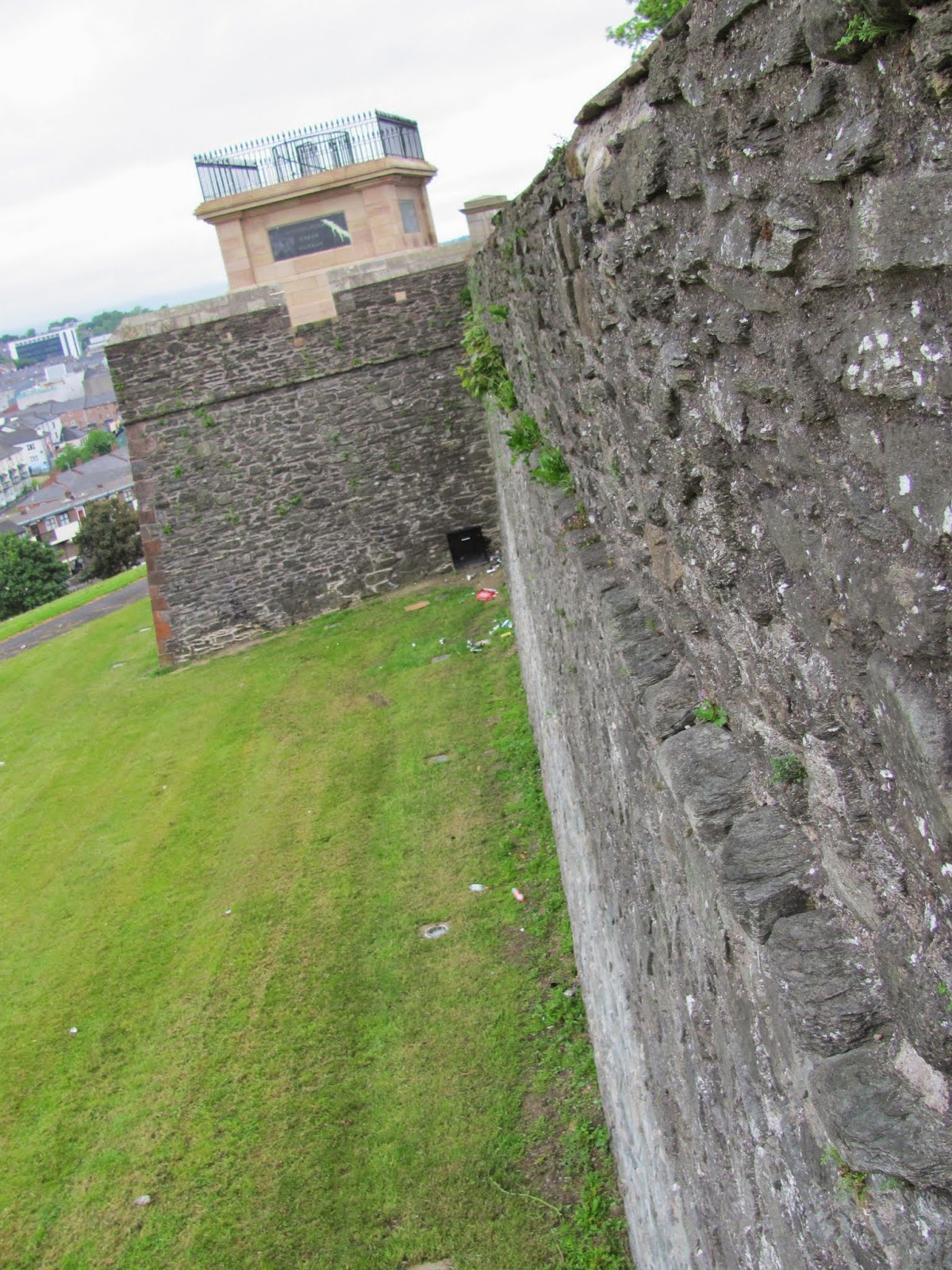 Derry City Wall Exterior, Northern Ireland
