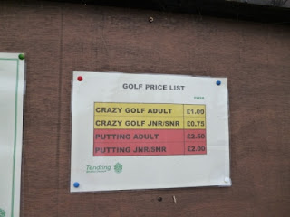 Crazy Golf in Essex - Walton-on-the-Naze