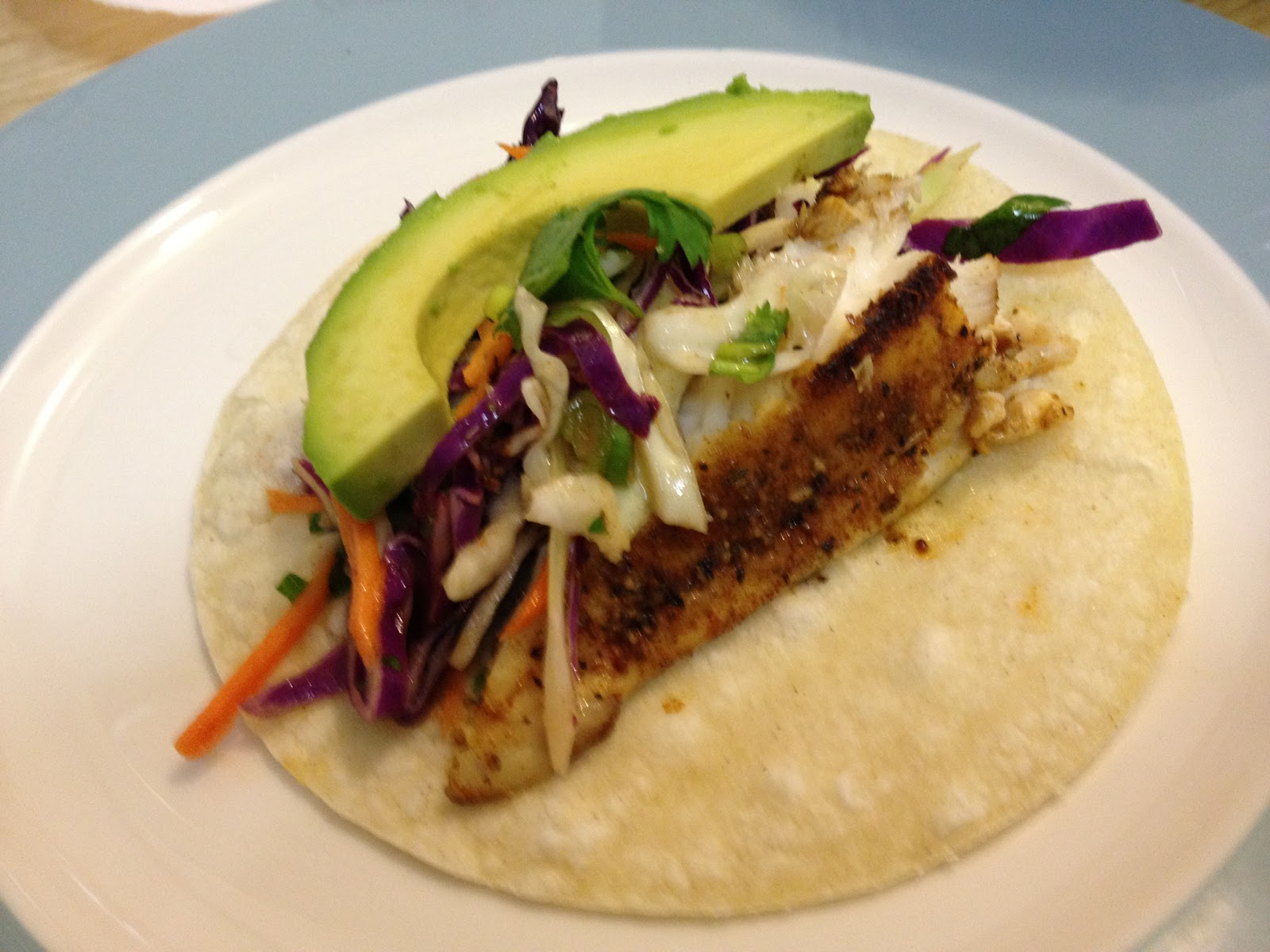 Mexican chain restaurant recipes blackened fish tacos for Blackened fish tacos