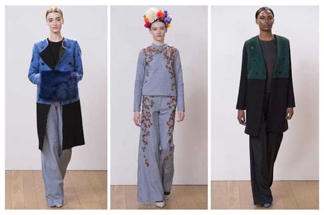 Eudon Choi A/W13 Trousers - London Fashion Week