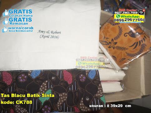 Tas Blacu Batik Sinta unik