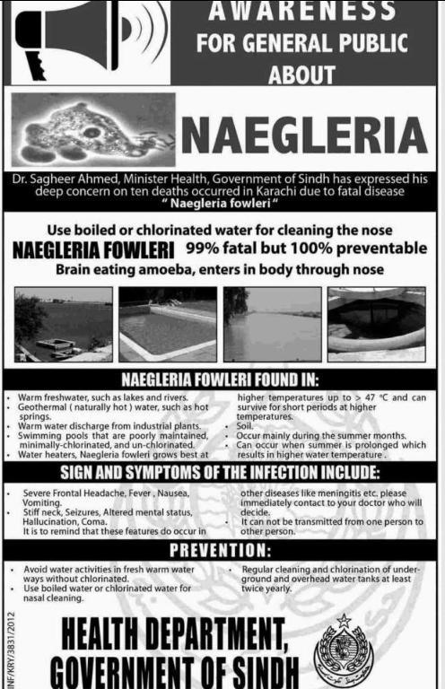 Naegleria Fowleri Brain Eating Amoeba Urdu Viral
