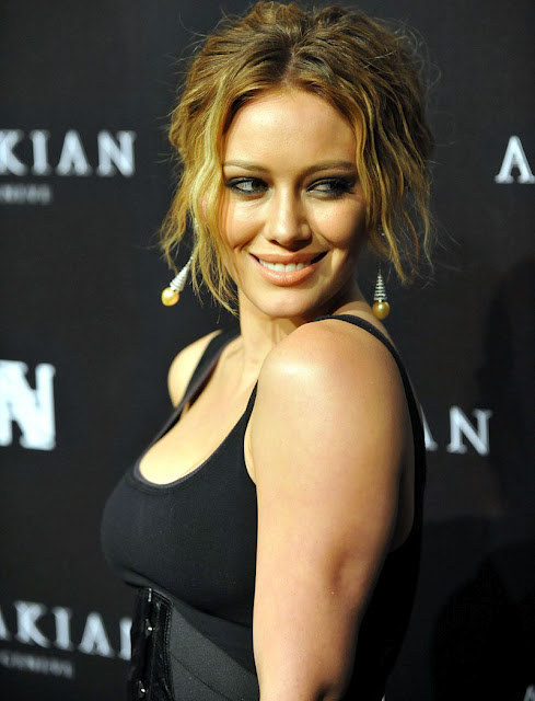Hilary Duff in Black