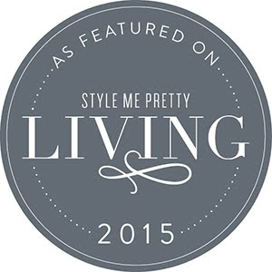 As seen on Style Me Pretty Living