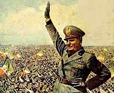 Mussolini Headkick naam geschiedenis - Mussolini Propaganda