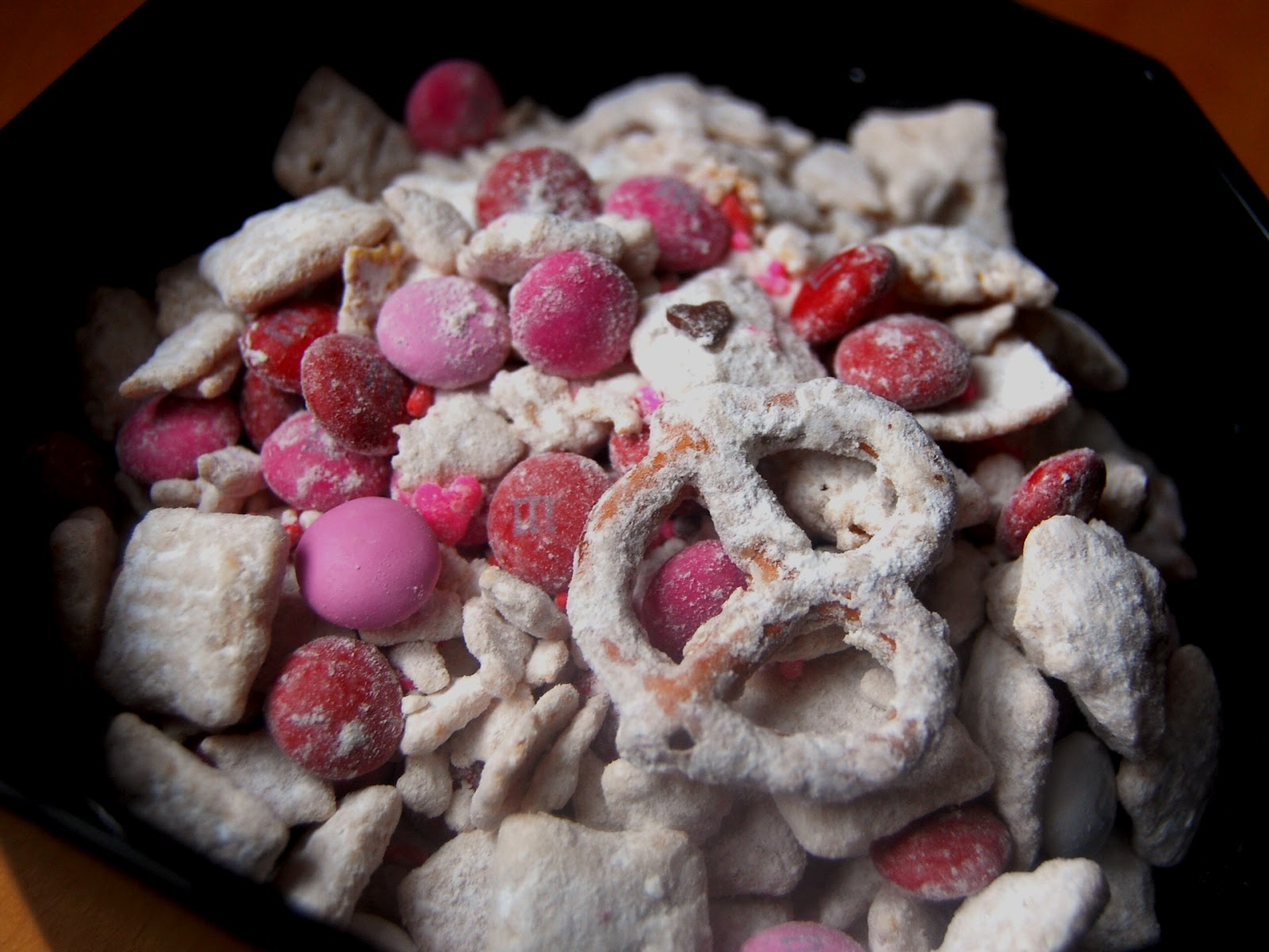 Sweet Valentineu0027s Day Treats: Puppy {Love} Chow, Red Velvet Popcorn, And  Red Velvet Cookies And Cream Milkshakes