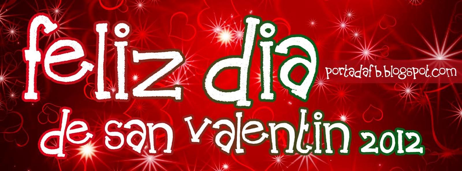 Portadas de San Valentin para facebook 2013 - Portadas