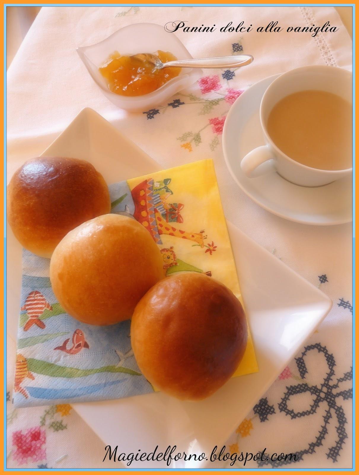 panini dolci alla vaniglia