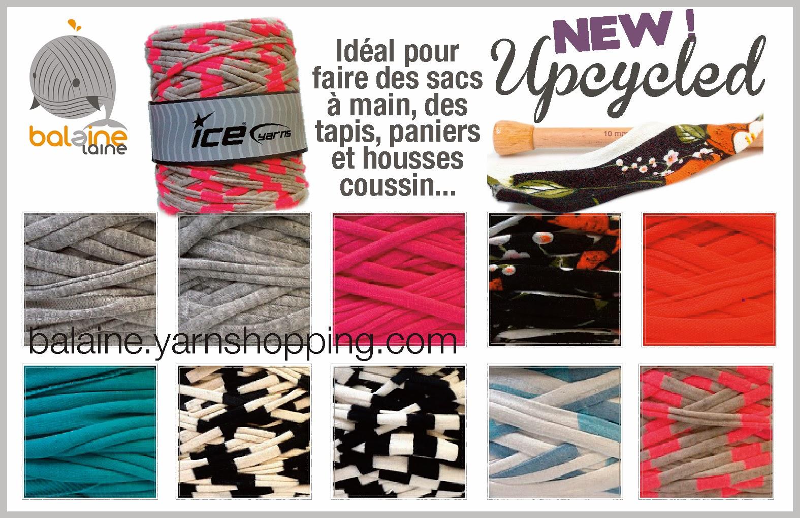 http://balaine.yarnshopping.com/upcycled-fabric