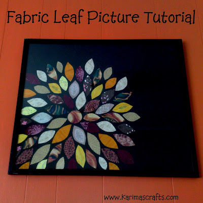 fabric leaf picture tutorial muslim blog