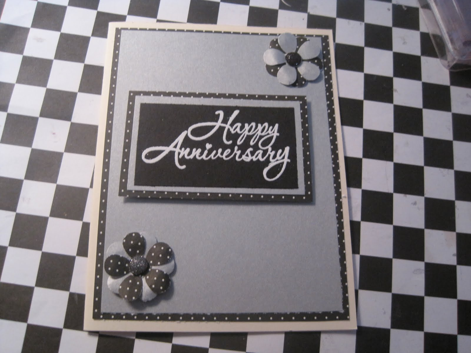 Racincrafts cards for my sister wedding and anniversary cards