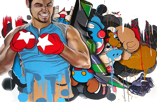 Hatziel Art Artshow Painting Contemporary Graffiti