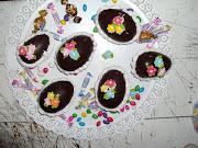 Huevos de Pascuas y bombones rellenos en el Segundo Taller de Panificación dsc
