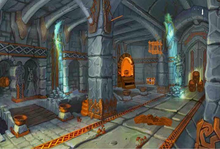 Games2Attack Wooden Door Escape