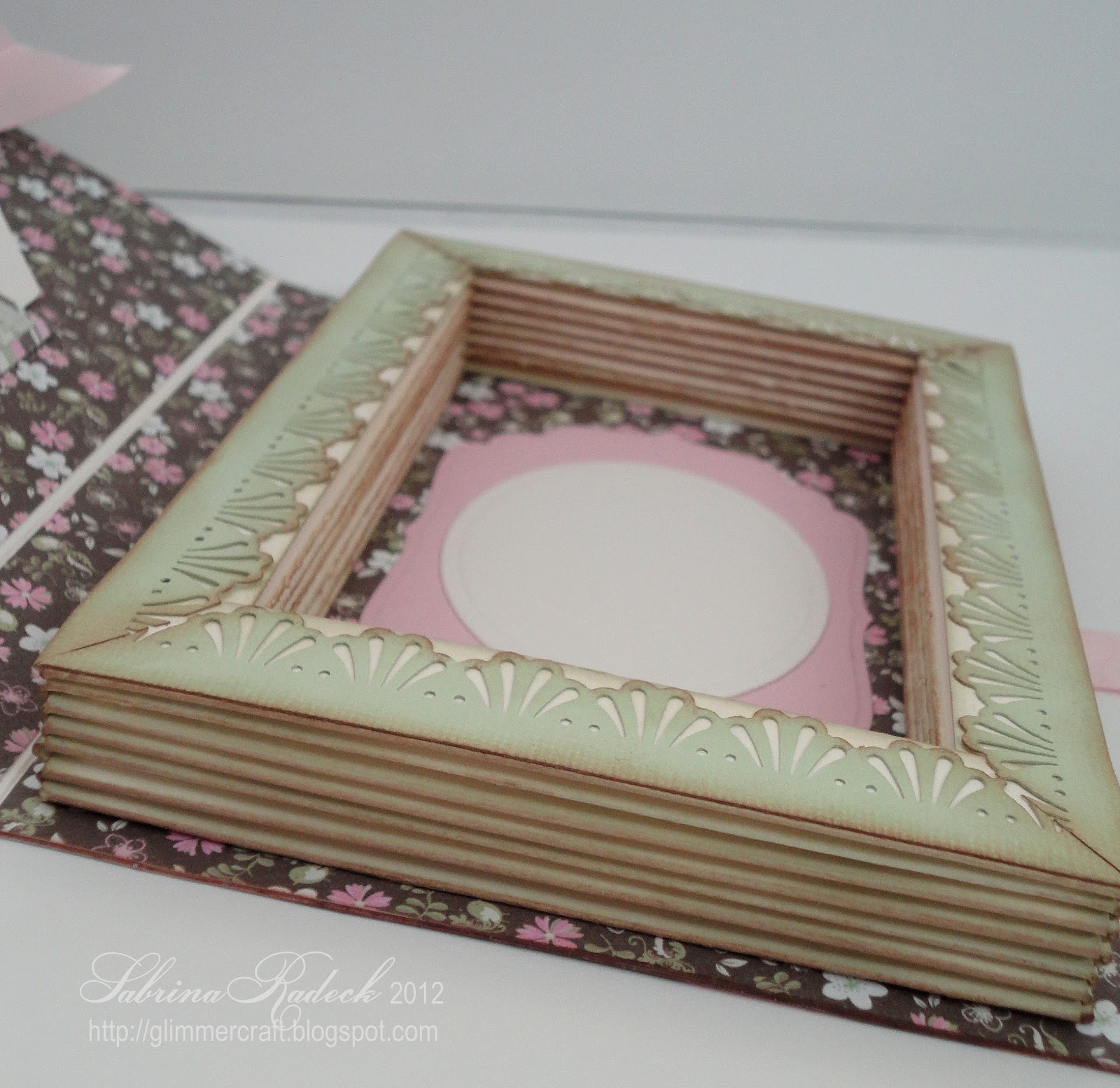 How to make the book for a scrapbook - This Book Card Can Be Filled With Treats Hiding A Message At The Bottom Or It Can Hold A Small Gift Or Can House A Beautifully Decorated Embellished Photo