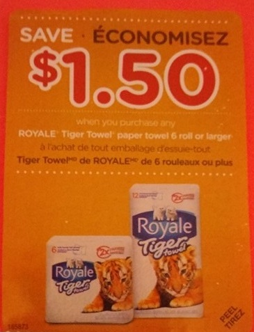 Coupons royale 2