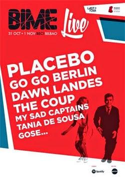 BIME Live 2014 en Bilbao en octubre y noviembre