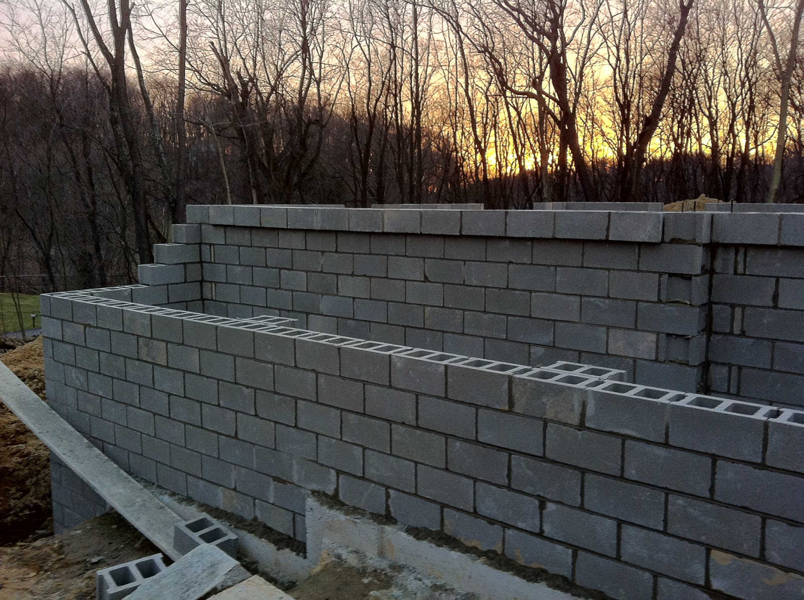 Building With Wayne Homes In Pittsburgh Basement Block
