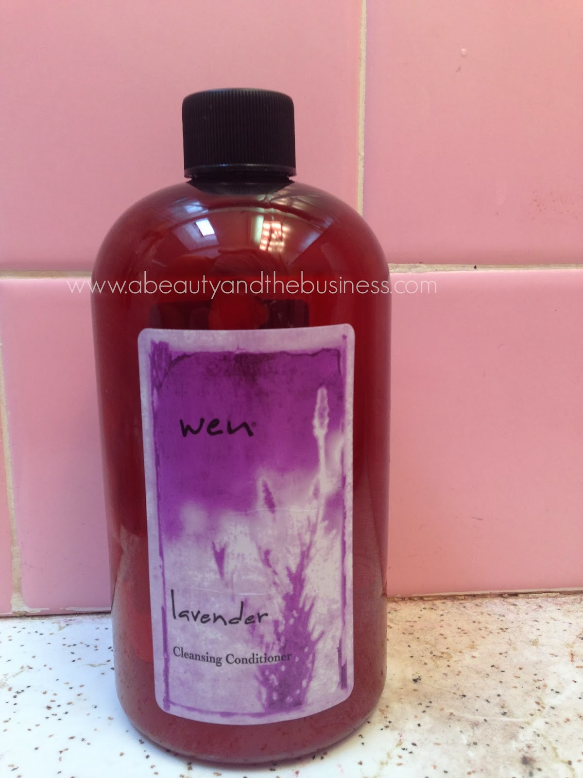 Wen Lavender Review A Beauty And The Business