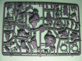 Skullcrushers of Khorne sprues Warriors of Chaos