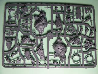 Skullcrushers of Khorne sprues Warriors of Chaos