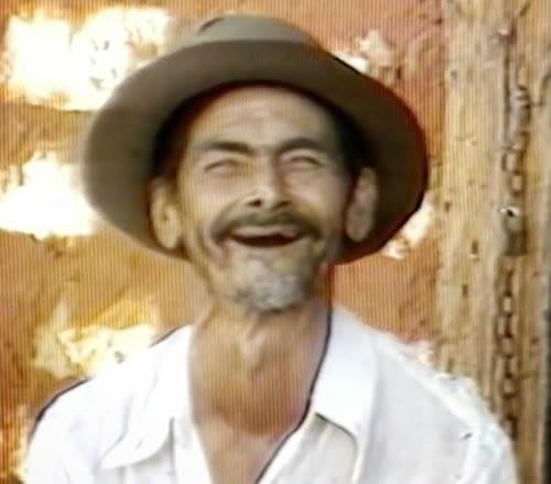Campanha da Caixego (GO) com o contador de causo Geraldinho Nogueira.