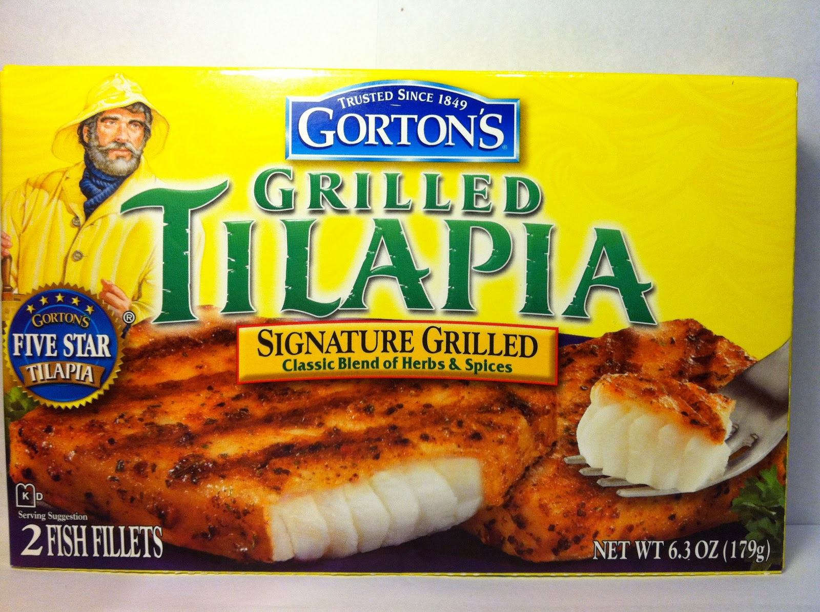 crazy food dude review gorton 39 s tilapia signature