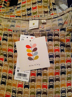 Orla Kiely top with multicolour car print from Uniqlo