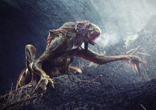 Monstruosas criaturas encontradas bajo tierra Criaturas2