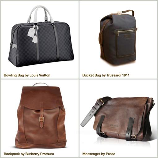 Louis Vuitton - Trussardi - Burberry Prorsum - Prada