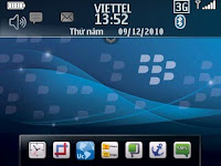 skin vhome blackberry no wall