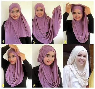 Tata Cara Memakai Hijab Modern Dan Modis Terbaru 2015