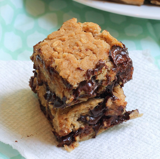 ... gooey Chocolate Chip Bar. Aaaand... I made it pretty darn good for you